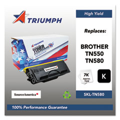 751000NSH0349 Remanufactured TN580 High-Yield Toner, Black