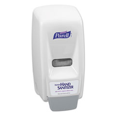 Bag-In-Box Hand Sanitizer Dispenser, 800mL, 5 5/8w x 5 1/8d x 11h, White