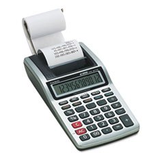 HR-8TM Handheld Portable Printing Calculator, Black Print, 1.6 Lines/Sec