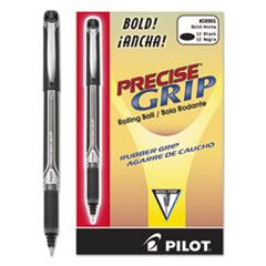 Precise Grip Roller Ball Stick Pen, Black Ink, 1mm