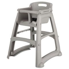 Sturdy Chair Youth Seat, Plastic, 23 3/8w x 23 1/2d x 29 3/4h, Platinum