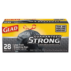 BAG,GLAD,TRSH,DS,30GAL,BK