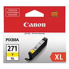 0339C001 (CLI-271XL) High-Yield Ink, Yellow