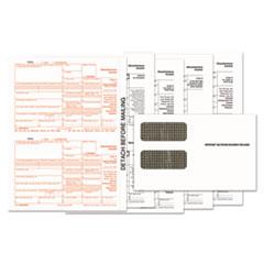 1099-MISC Tax Form Kits, 8 x 5 1/2, 5-Part, Inkjet/Laser, 24 1099s & 1 1096