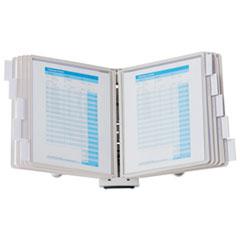 SHERPA Desk Reference System, 10 Panels, 10 x 5 7/8 x 13 1/2