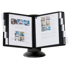 SHERPA Motion Desk Reference System, 10 Panels, Black