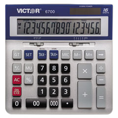 6700 Large Desktop Calculator, 16-Digit LCD