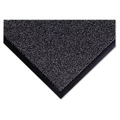 Cross-Over Indoor/Outdoor Wiper/Scraper Mat, Olefin/Poly, 36 x 60, Gray