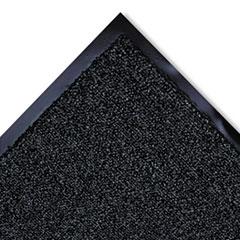 Cross-Over Indoor/Outdoor Wiper/Scraper Mat, Olefin/Poly, 36 x 120, Gray