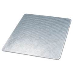 SuperMat Frequent Use Chair Mat for Medium Pile Carpet, 45 x 53, Clear DEFCM14243