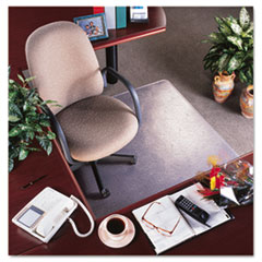 "MotivationUSA * RollaMat Vinyl Chair Mat for Med Pile Carpet, Beveled Edge, 36 x 48"", at Sears.com"