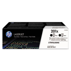 201X 2-pack High Yield Black Original LaserJet Toner Cartridges, 2/PK