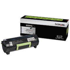 60F0H0G Toner, 10,000 Page-Yield, Black