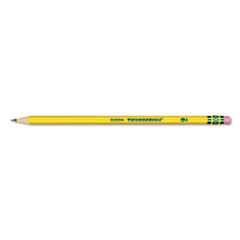 Pre-Sharpened Pencil, HB, #2, Yellow Barrel, Dozen