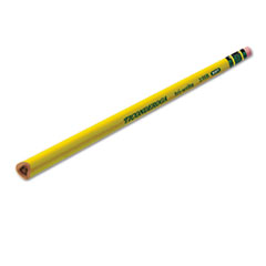 Tri-Write Woodcase Pencil, HB #2, Yellow Barrel, Dozen
