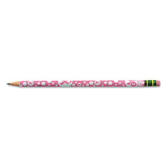 Breast Cancer Awareness Woodcase Pencil, HB #2, Pink Barrel, Dozen