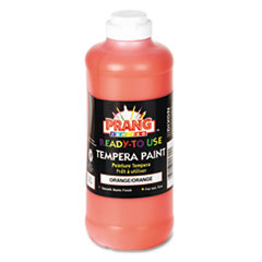 Ready-to-Use Tempera Paint, Orange, 16 oz DIX21602