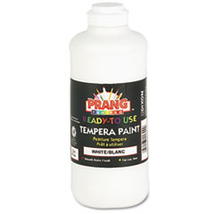 Ready-to-Use Tempera Paint, White, 16 oz DIX21609