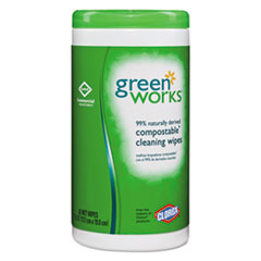Green Works® Compostable Cleaning Wipes
