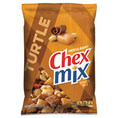 CHEX MIX CHOCOLATE TURTLE SNACK MIX 4.5OZ BAG 7BX