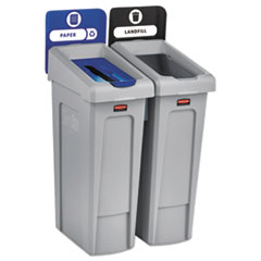 RUBBERMAID 2-STREAM LANDFILL