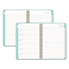 BALLET WEEKLY/MONTHLY PLANNERS, 4 7/8 X 8, TEAL,