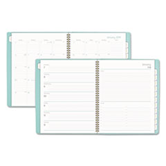 BALLET WEEKLY/MONTHLY PLANNERS, 8 1/2 X 11, TEAL,