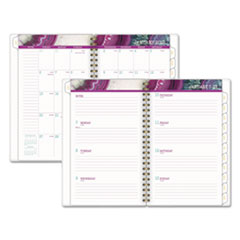 AGATE WEEKLY/MONTHLY PLANNERS, 4 7/8 X 8, PURPLE,