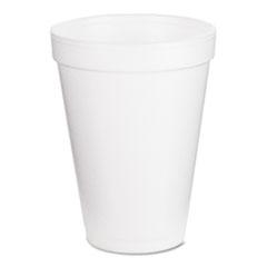 Dart Foam Drink Cups, 12oz, 25/Pack