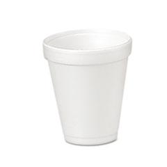 Foam Drink Cups, 4oz, 25/Bag, 40 Bags/Carton DCC4J4