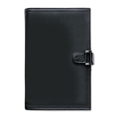 Soft Flex Leatherlike Starter Set, 3 3/4 x 6 3/4, Black