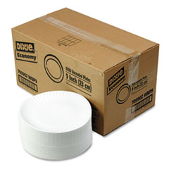 "COU ** White Paper Plates, 9"" dia., 4 Packs of 250/Carton at Sears.com"