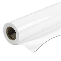 "Production Removable Vinyl, Glossy, 6 mil, 50"" x 60 ft Roll, White"