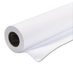 "Coated Matte Print Paper, 4 mil, 50"" x 100 ft. Roll, White"