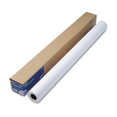 "Doubleweight Matte Paper, 44"" x 82 ft, White"