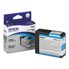 T580200 UltraChrome K3 Ink, Cyan