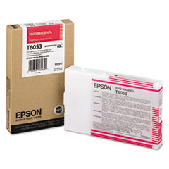 Epson T6053 Vivid Magenta Ink Cartridge, Epson T605300