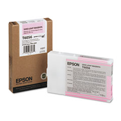 Epson T6056 Vivid Light Magenta Ink Cartridge, Epson T605600