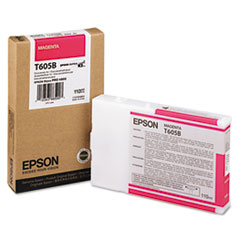 Epson T605B Magenta Ink Cartridge, Epson T605B00