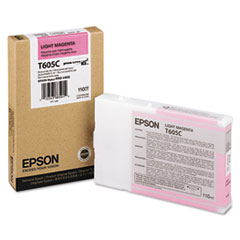 Epson T605C Light Magenta Ink Cartridge, Epson T605C00