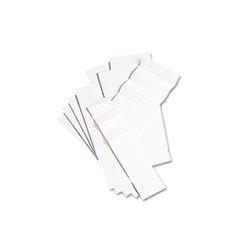 "Blank Inserts for 42 Series Hanging File Folders, 1/5 Tab, 2"", White, 100/Pack"