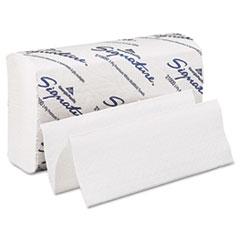 Paper Towel, 9 1/5 x 9 2/5, White, 125/Pack, 16 Packs/Carton