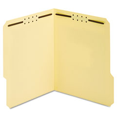 Manila Folders, Two Fasteners, 1/3 Tab, Letter, 50/Box