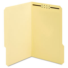 Manila Folders, One Fastener, 1/3 Tab, Legal, 50/Box