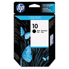 HP 10, (C4844A) Black Original Ink Cartridge