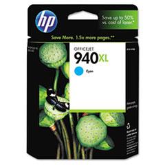 HP 940XL, (C4907AN) High Yield Cyan Original Ink Cartridge