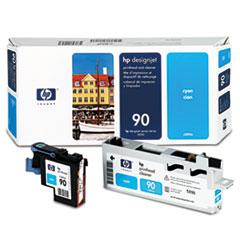 HP 90, (C5055A) Cyan Printhead & Cleaner