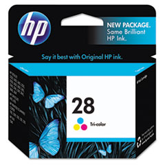 HP 28, (C8728AN) Tri-color Original Ink Cartridge
