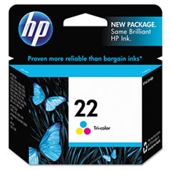 HP 22, (C9352AN) Tri-color Original Ink Cartridge