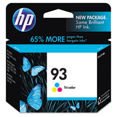 HP 93, (C9361WN) Tri-color Original Ink Cartridge
